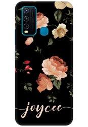 Pretty Roses Name Case for Vivo Y30